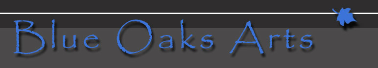 Blue Oaks Arts Logo